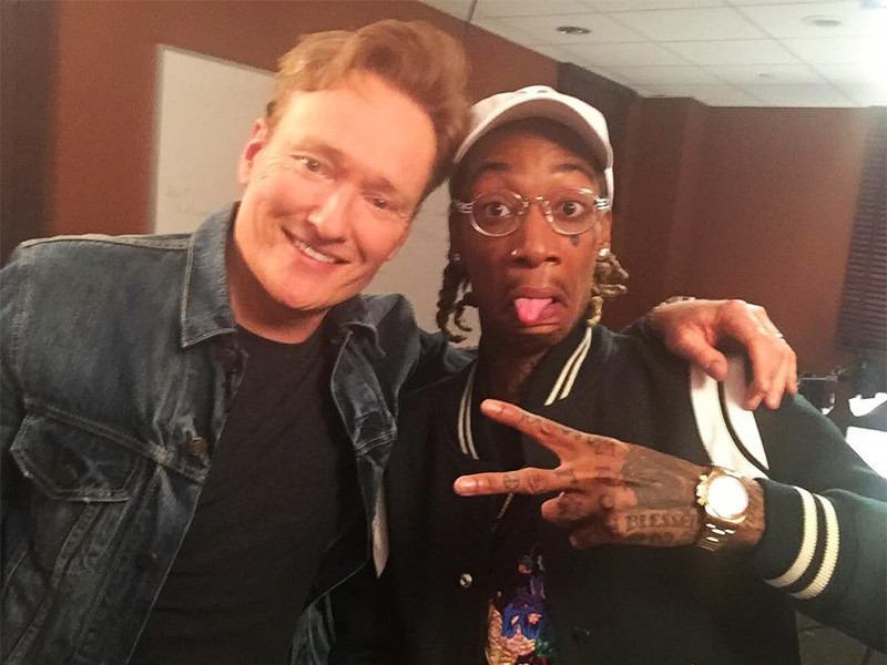 Wiz Khalifa Smokes Weed & Plays Video Games With Conan O'Brien
