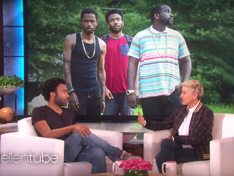 """Donald Glover's Mom Told Him Not To Mess Up """"Star Wars"""" Role"""