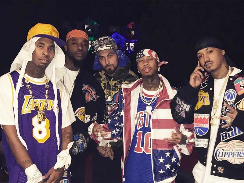 Tyga Wins Hip Hop Halloween 2016 (So Far) With Dipset Disguise