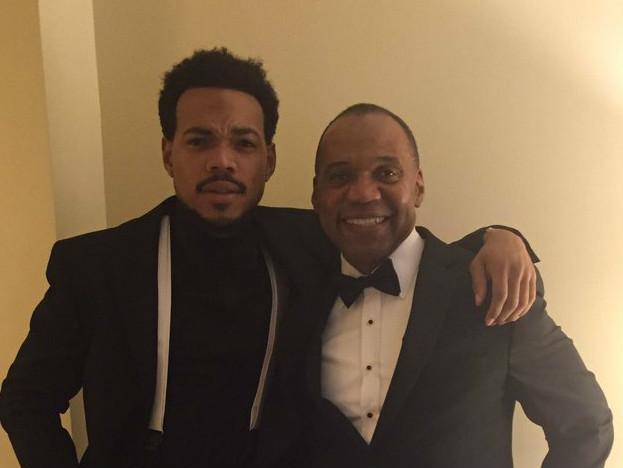 Chance The Rapper & Frank Ocean Attend President Barack Obama's Final State Dinner
