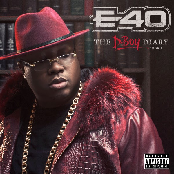 E-40 The D-Boy Diary Book 1 album cover art