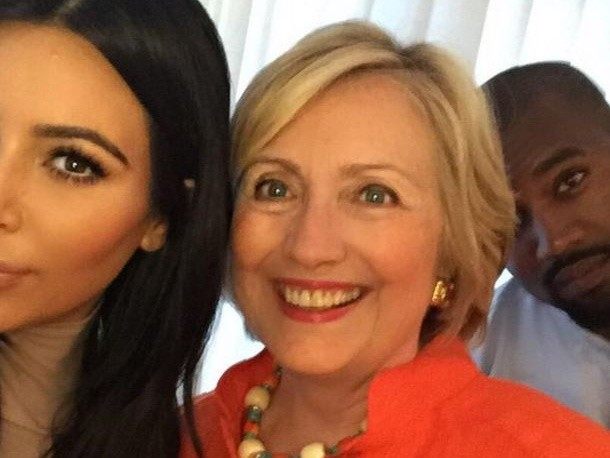 "Hillary Clinton On Kanye West Leaving Concert Following Kim Kardashian Robbery: ""Bless His Heart"""