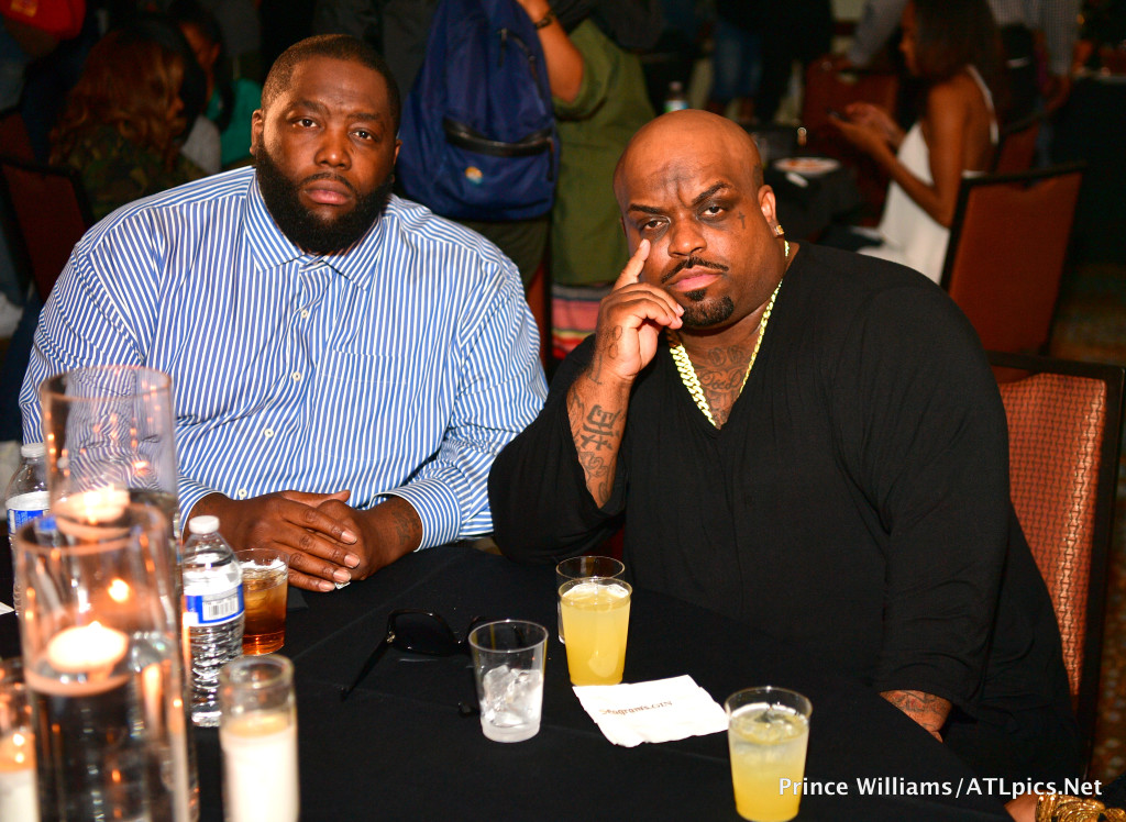 Killer Mike and Cee-Lo Green At A3C's Welcome To Atlanta Dinner Presented By ChooseATL
