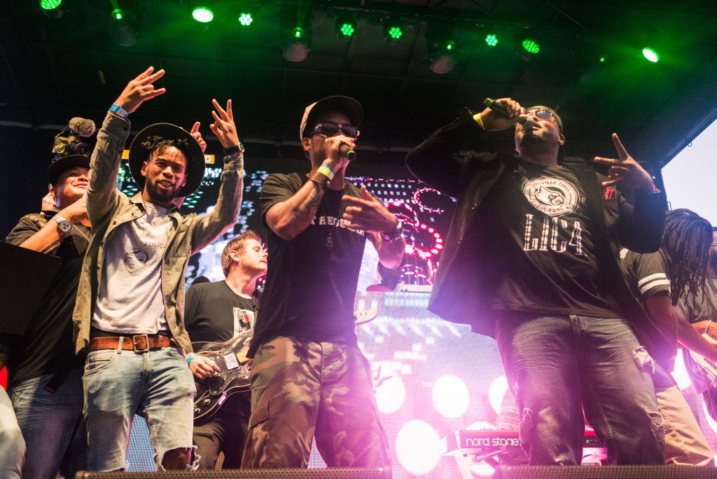 Nappy Roots Performing During ATLiens Tribute