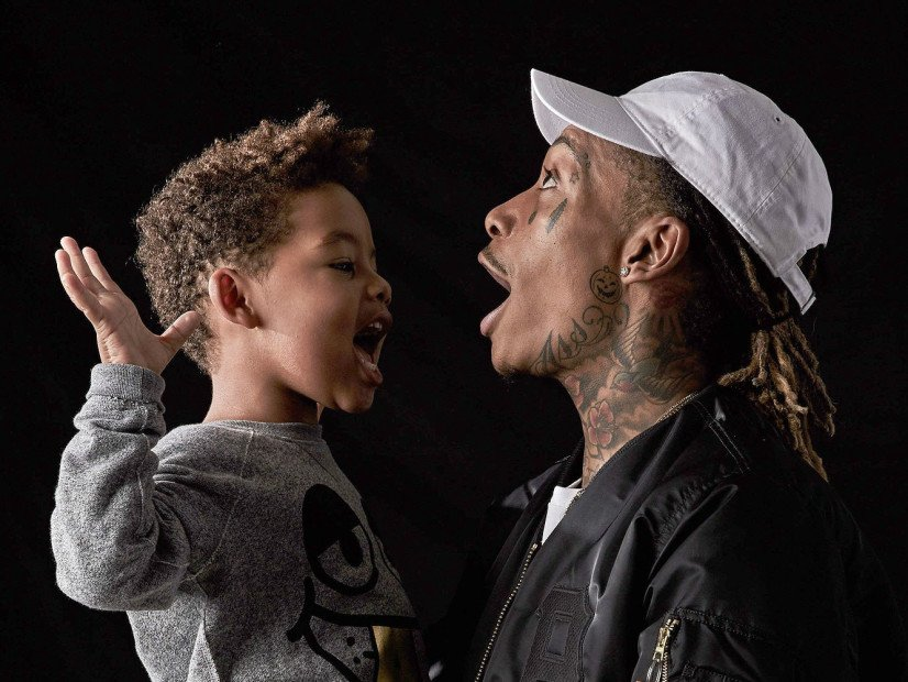 """Wiz Khalifa To Release """"BASH"""" Clothing Line In Honor Of His Son Sebastian"""