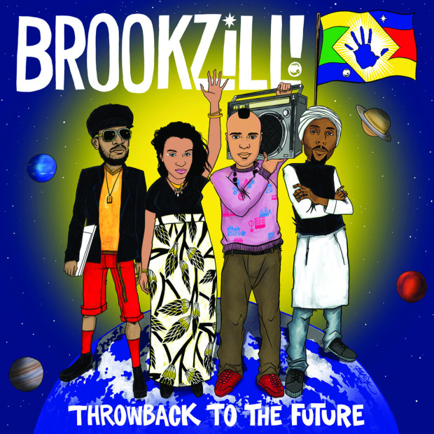 """Review: BROOKZILL! Provide Solid Nostalgia With """"Throwback To The Future"""""""