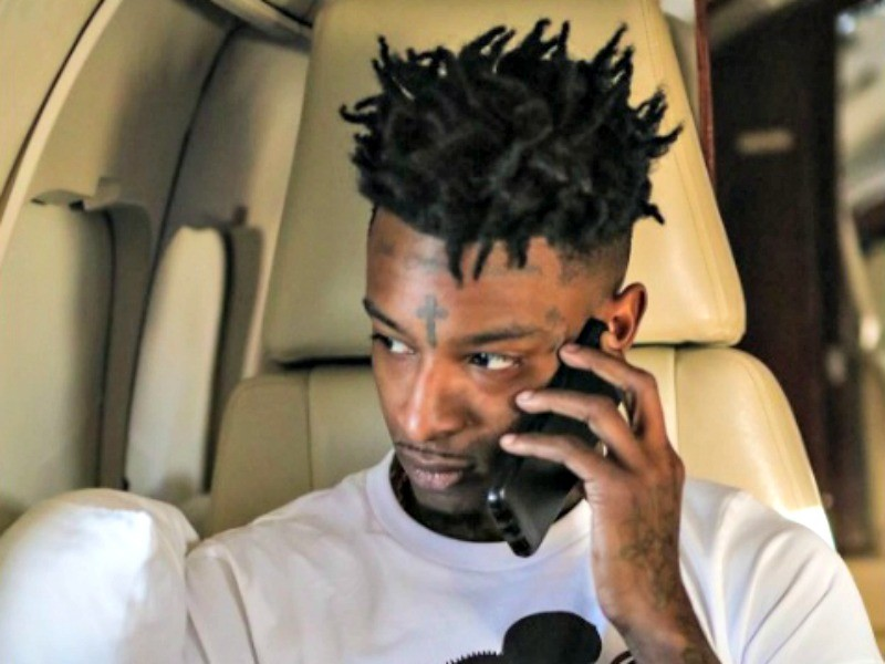 21 Savage Shows Kylie Jenner Some Love & Tyga's Instagram Gets Bombarded