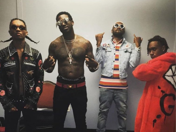 "Rae Sremmurd & Gucci Mane Hit Top Of Billboard Hot 100 Chart With ""Black Beatles"""