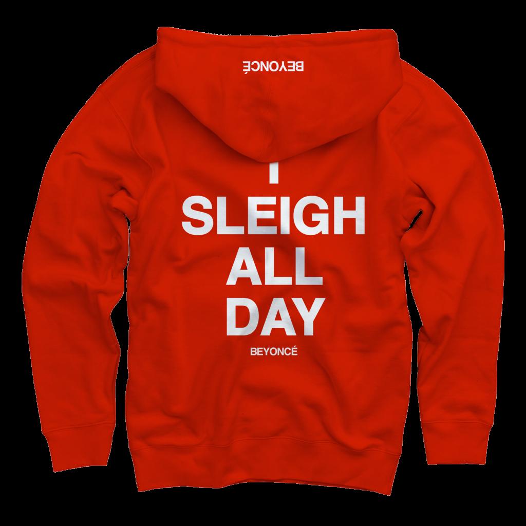 beyonce i sleigh all day back