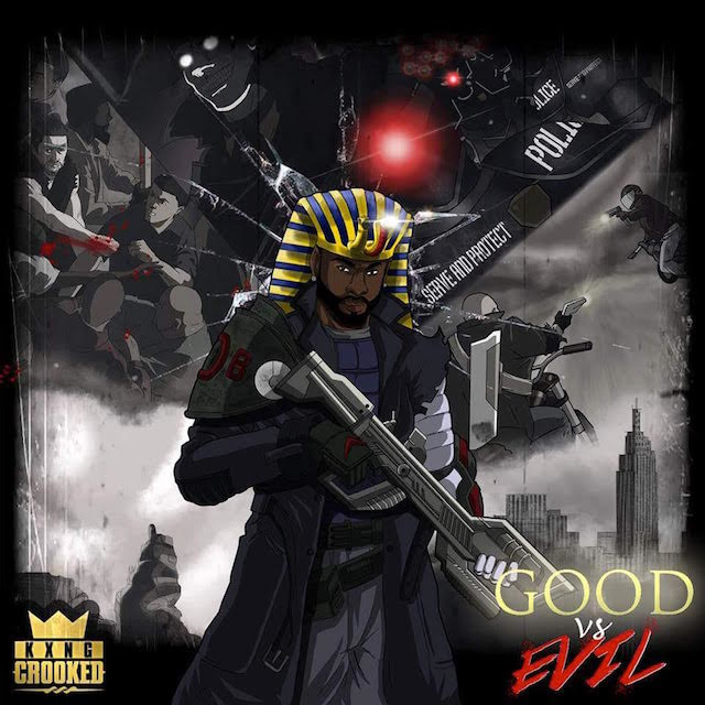 "Review: KXNG Crooked Is A Lyrical Exorcist On ""Good Vs. Evil"""