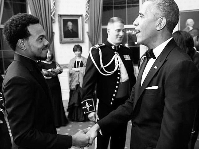 Watch Barack Obama Praise Chance The Rapper At Free Concert