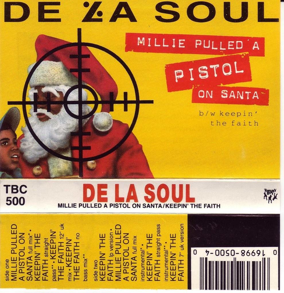 millie puled a pistol on santa de la soul is dead