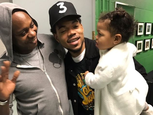 Dave Chappelle Surprises Students At Chance The Rapper's Open Mike Event