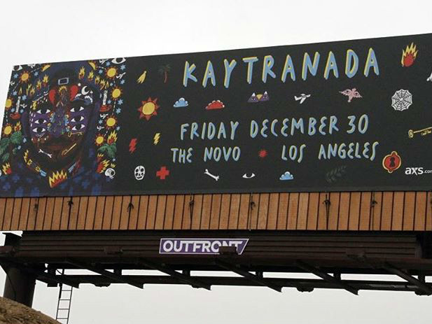 #FOMOBlog: Kaytranada's Show In Los Angeles Gets Its Own Billboard; DJ Snake Throws It Down At The Shrine