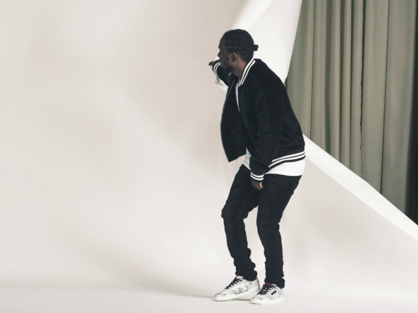 Kendrick Lamar   Reebok Collaborate On Club C Model Sneaker 5b8d64635