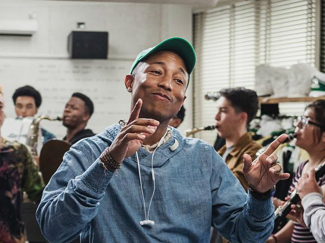 Pharrell & His Wife Welcome Triplets