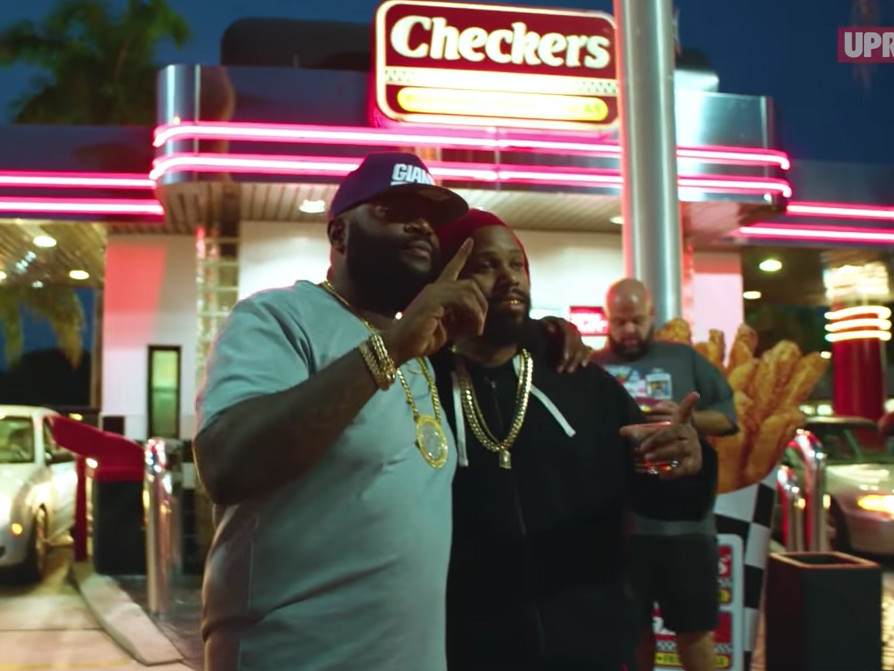 """Rick Ross """"Buys Back The Block"""" With New Checkers Restaurant Deal"""