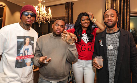 """#FOMOBlog: YG, Ty Dolla $ign, & Karrueche Attend DJ Mustard's """"For Every 12 Hours"""" Documentary Screening In L.A."""