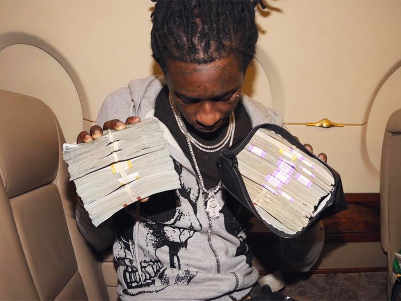 """Young Thug Claims He's """"The Richest In The A,"""" But Is He?"""