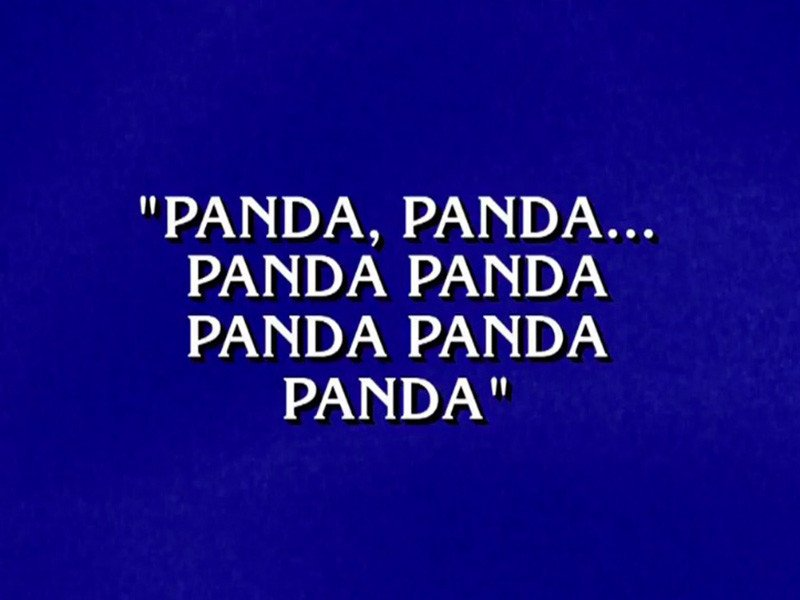 "Alex Trebek Shows Off His Rap Skills On ""Jeopardy!"""