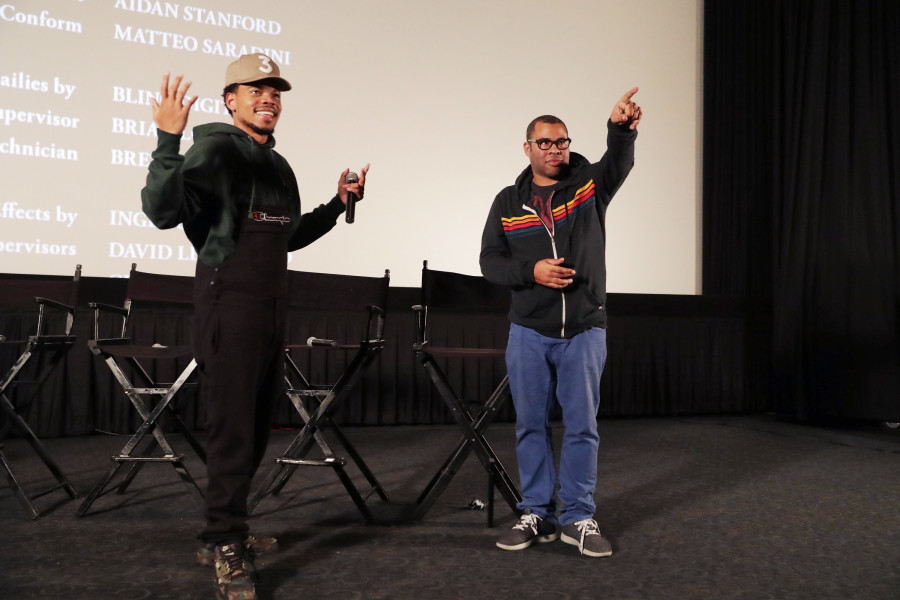 """Chance The Rapper Hosts """"Get Out"""" Screening With Jordan Peele, Lil Yachty & More"""