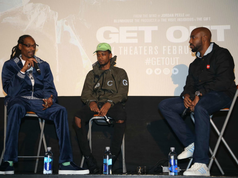 """Snoop Dogg & HipHopDX Host """"Get Out"""" Screening In Los Angeles"""