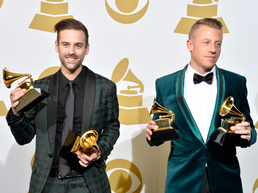 "Macklemore & Ryan Lewis Opted Not To Submit ""This Unruly Mess I Made"" To Grammys"