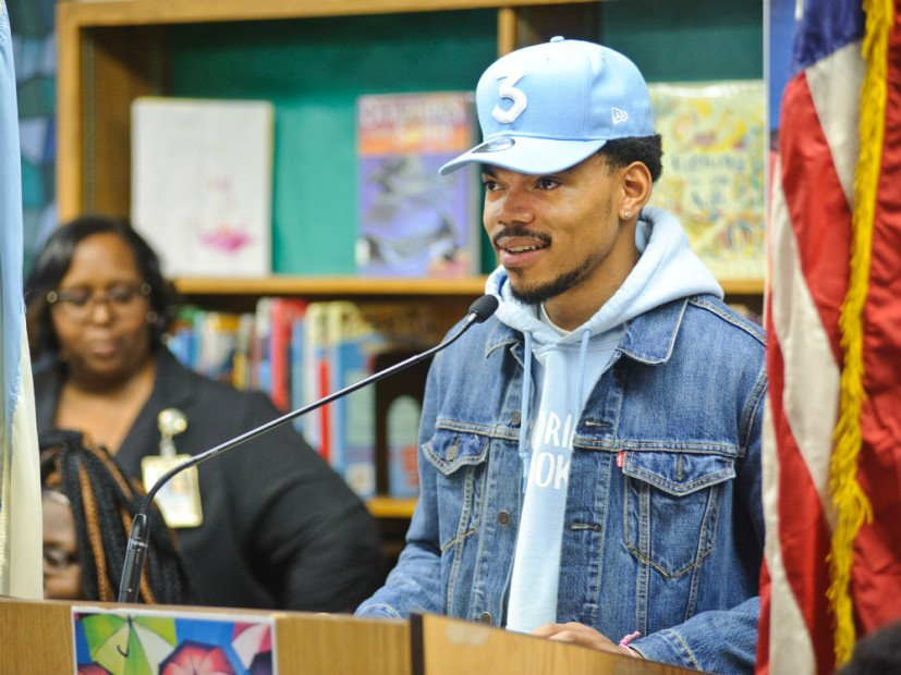 """Chance The Rapper Donates $1M To Chicago Public Schools After """"Unsuccessful"""" Meeting With Illinois Governor"""