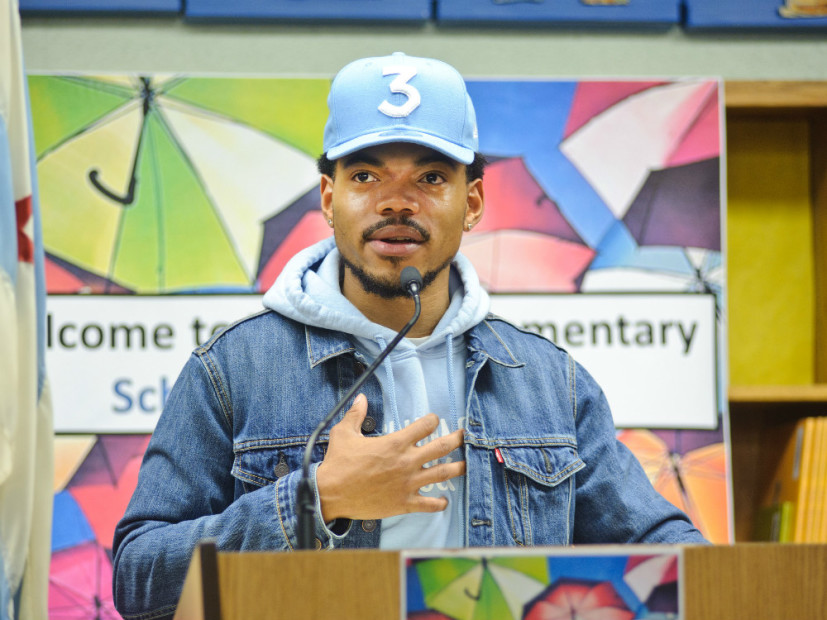 Chance The Rapper Praised By Michelle Obama, Lupe Fiasco & More After $1M Donation To Chicago Schools