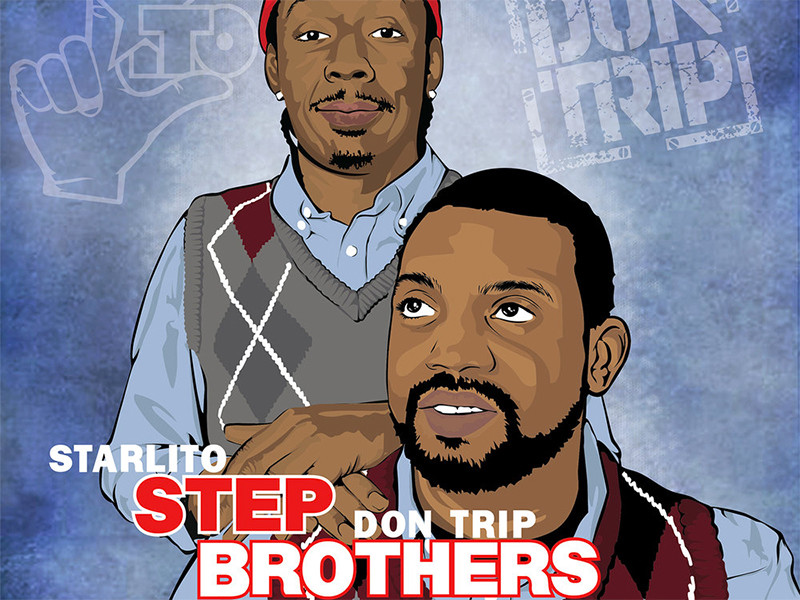 """Starlito & Don Trip Get Their Will Farrell & John C. Reilly On With """"Step Brothers Three"""""""