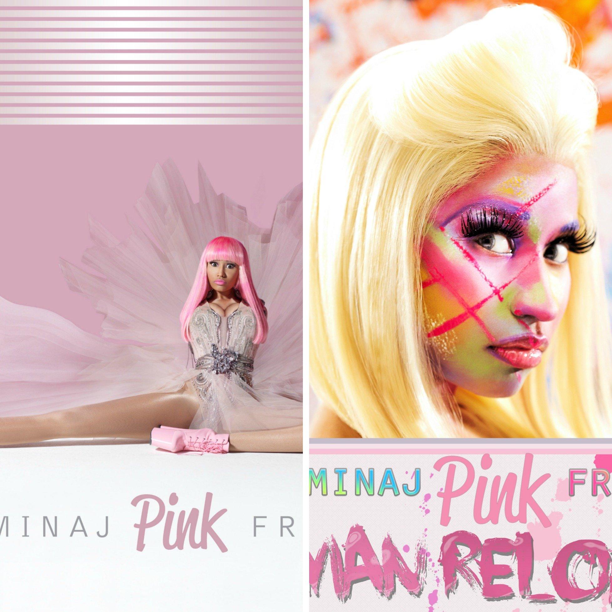 nicki minaj pink friday albums