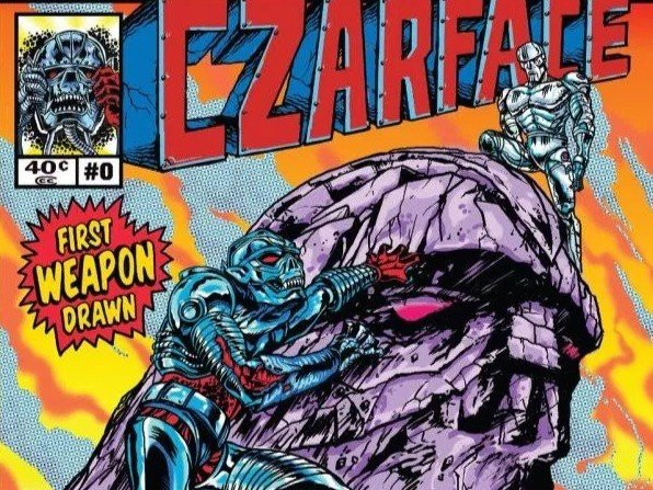 """Czarface Releases Interactive Comic Book-Friendly Album """"First Weapon Drawn"""""""