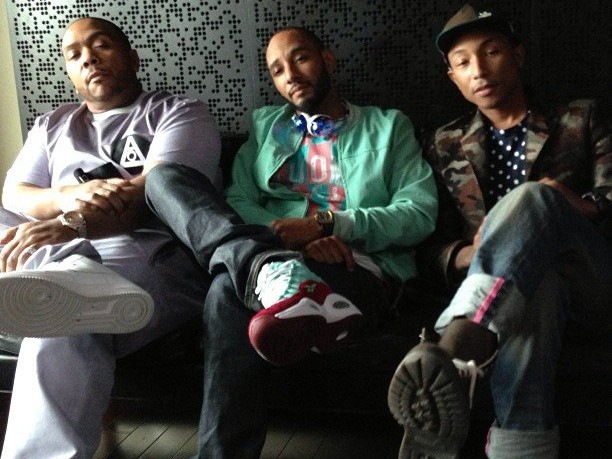 Just Blaze: Timbaland & Pharrell Beat Battle In The Works