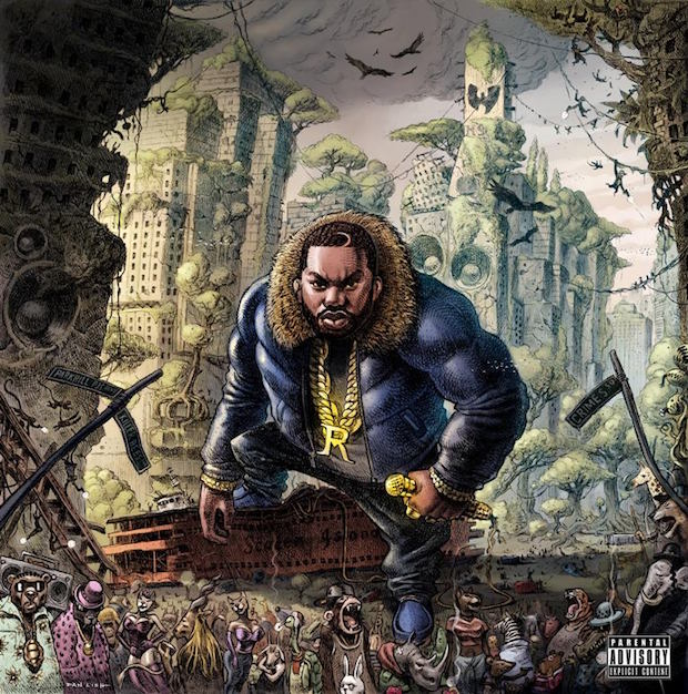 raekwon the wild album cover