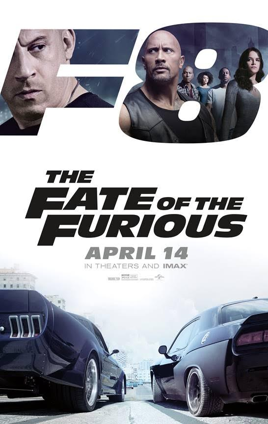 F8 – THE FATE OF THE FURIOUS