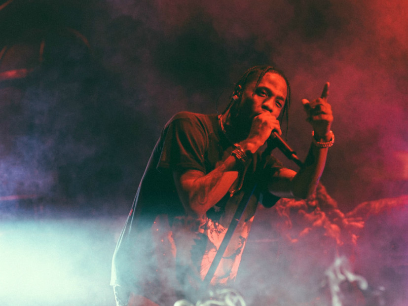 "Travis Scott Predicts Rock & Roll Hall Of Fame Honor After Breaking ""Goosebumps"" Record In Cleveland"