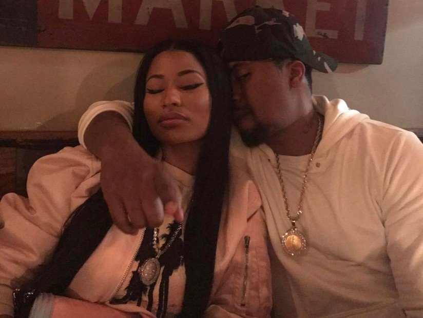 Nicki Minaj & Nas Dating Rumors Fly After They're Pictured Getting Close At Dinner