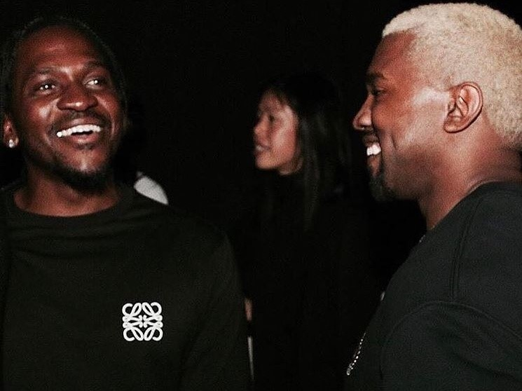 """Pusha T Helping Kanye West Find """"His Creative Groove"""""""