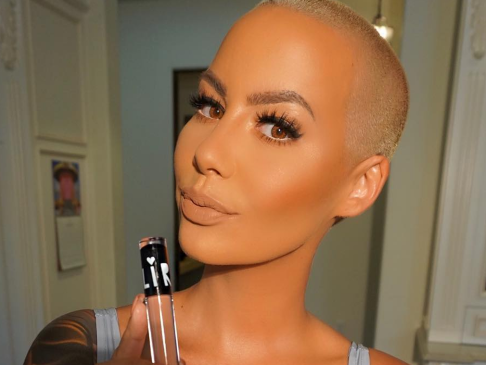 Amber Rose's Bush-Baring Instagram Follow-Up Post Topples 2 Million Views (NSFW)