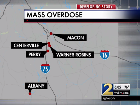 Fake Percocet Pills Cause Fatal Georgia Overdoses