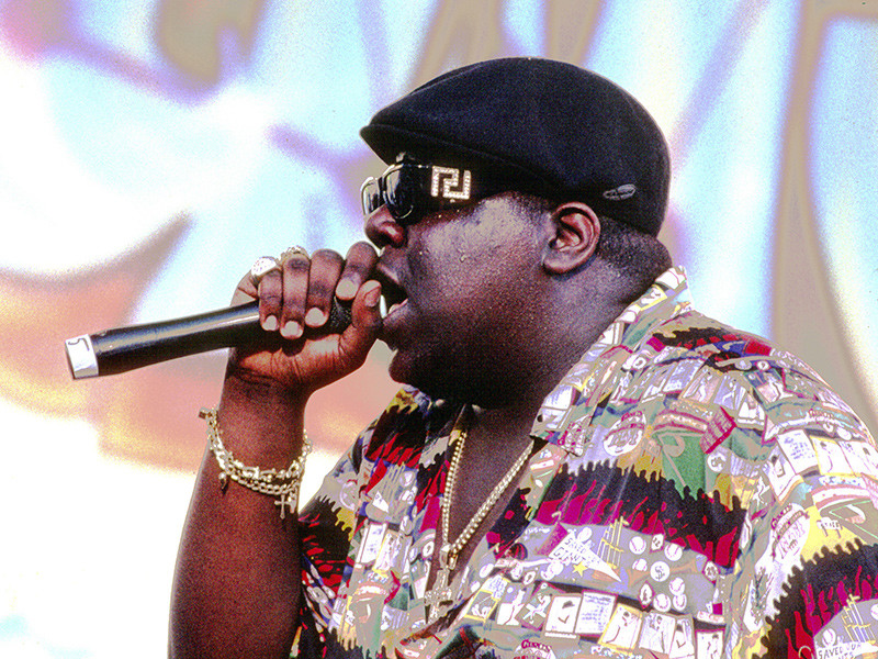"Christopher ""Biggie"" Wallace Courts Opens In Brooklyn"