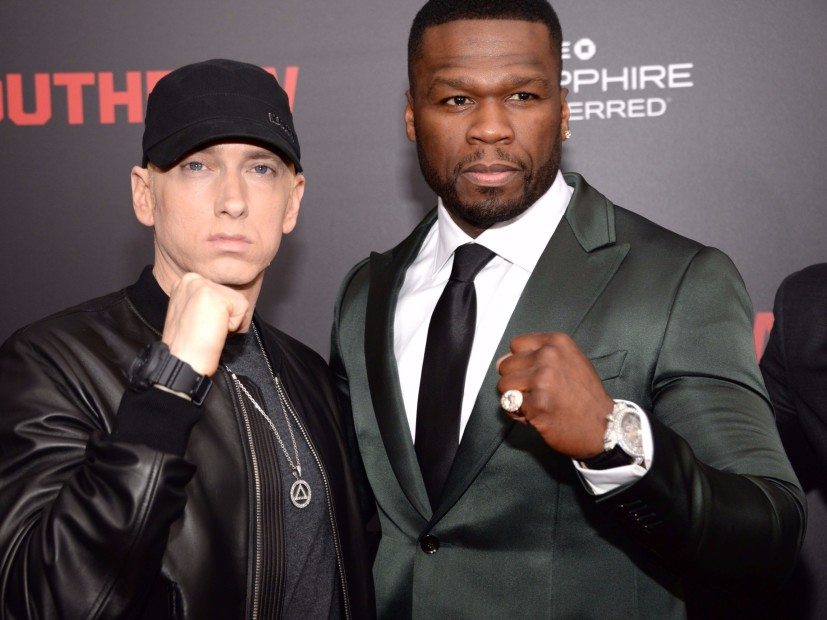 """Eminem Raps """"Places To Go"""" To 50 Cent On His Birthday"""