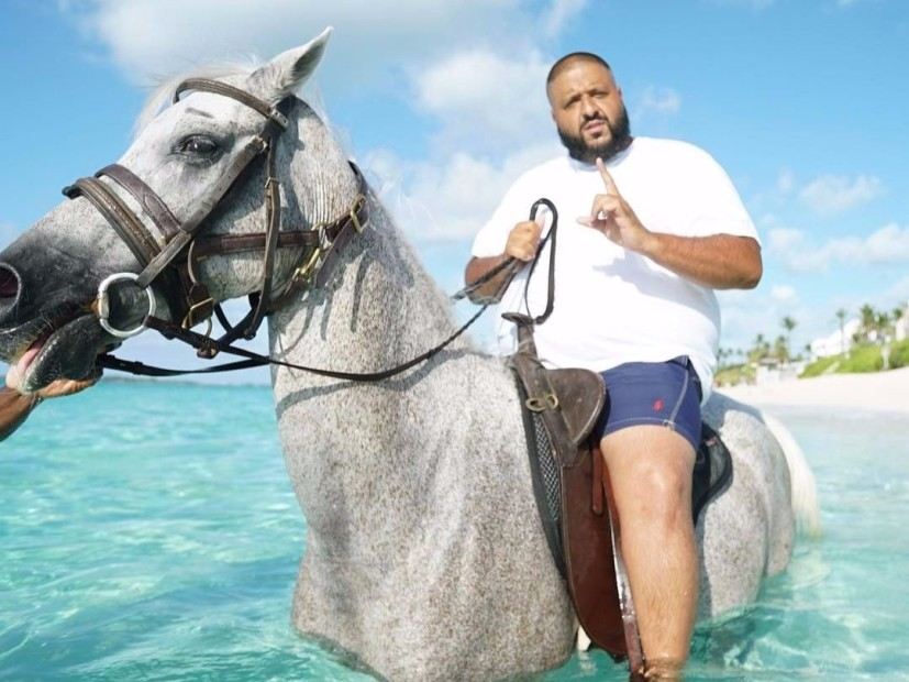 No, DJ Khaled Didn't Break A Horse's Back