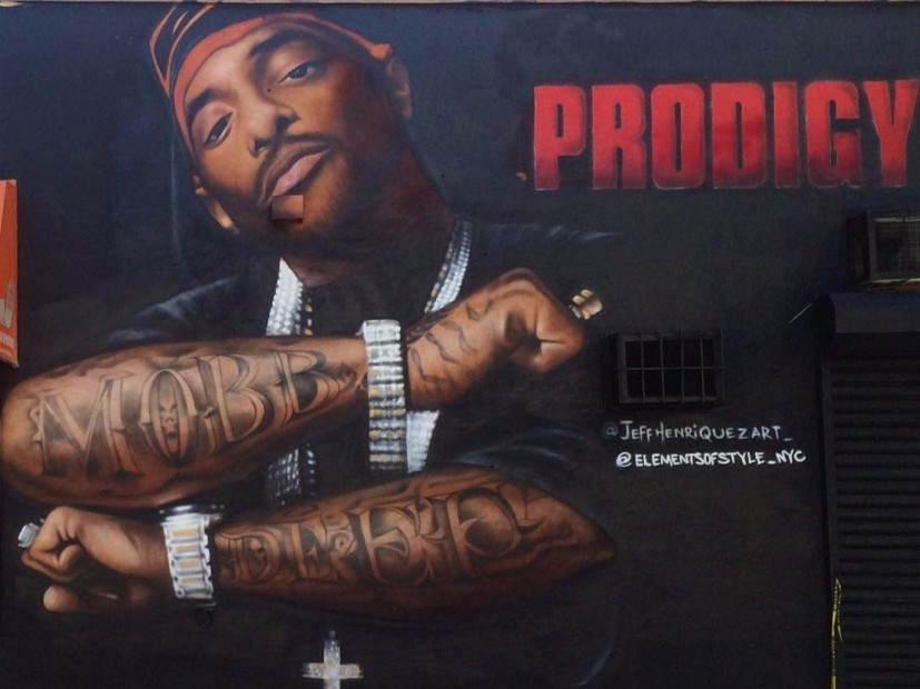 Prodigy Mural Permanently Removed Following Defacement