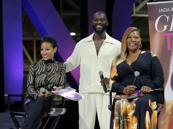 "Queen Latifah, Jada Pinkett-Smith & ""Girls Trip"" Cast Enjoy Essence Fest"