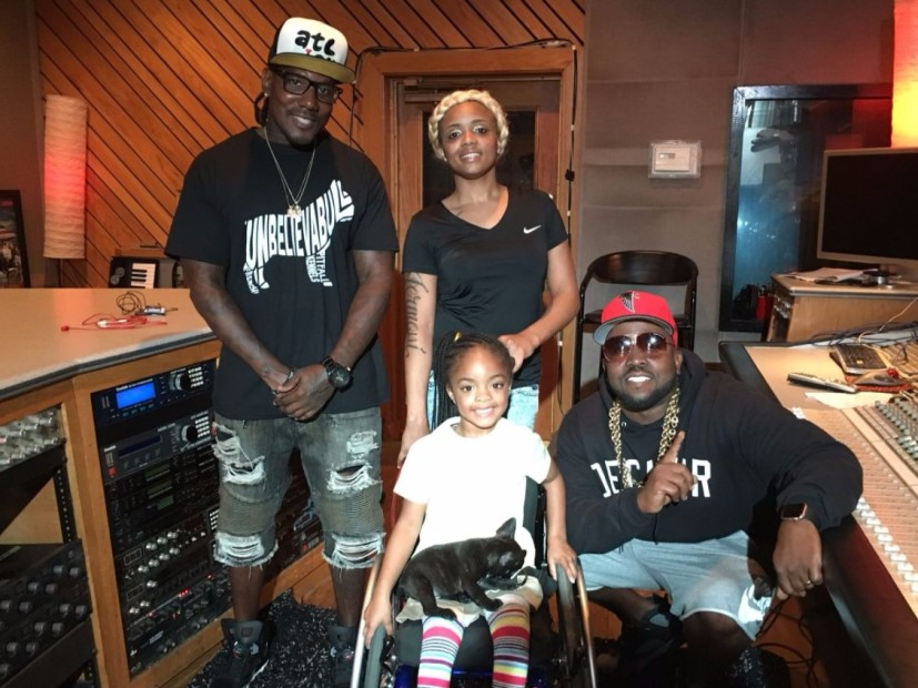 Big Boi Gifts Service Puppy To 5-Year-Old Paralyzed By Gunshot