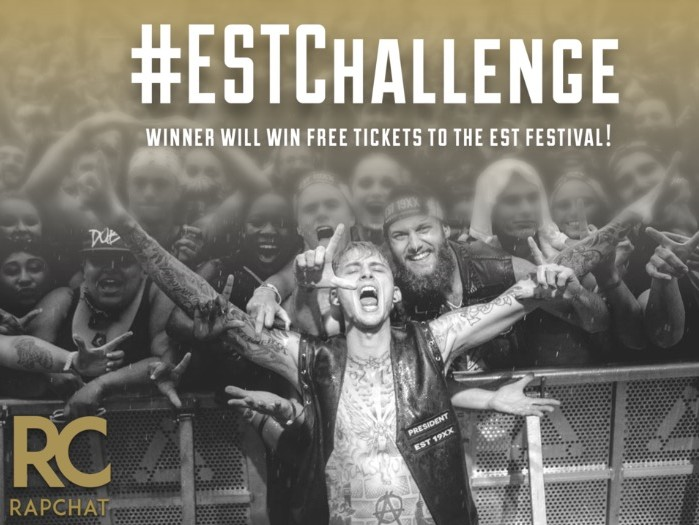 Win Tickets To MGK's EST FEST Courtesy Of HipHopDX & Rapchat