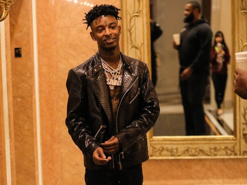 "Hip Hop Single Sales: 21 Savage's ""Bank Account"" Officially Certified Platinum"