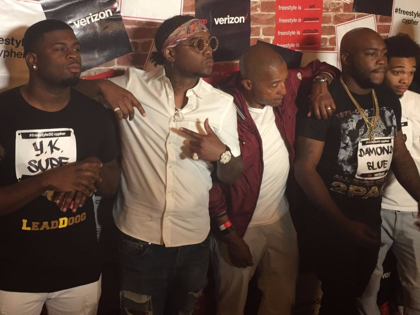 Chicago Spitter Y.K Supe Wins Verizon #Freestyle50 Cypher