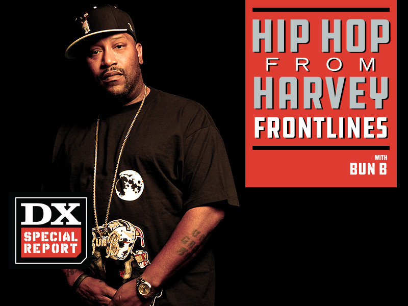 Hip Hop From The Harvey Frontlines: Bun B